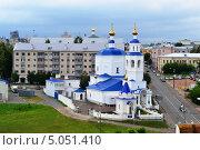 Купить «Приходский Пятницкий храм», фото № 5051410, снято 30 июня 2012 г. (c) александр афанасьев / Фотобанк Лори