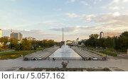 Разноцветный фонтан в Екатеринбурге, Россия, таймлапс (2013 год). Стоковое видео, видеограф Никита Майков / Фотобанк Лори