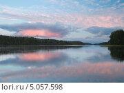 Купить «Вечер на озере Ужин», фото № 5057598, снято 23 августа 2013 г. (c) Pukhov K / Фотобанк Лори