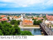 Купить «Панорама Каунаса, Литва», фото № 5073730, снято 21 мая 2013 г. (c) Сергей Новиков / Фотобанк Лори