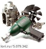 Купить «Набор инструментов для ремонта автомобиля», фото № 5079342, снято 5 мая 2013 г. (c) Куликов Константин / Фотобанк Лори