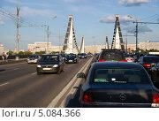 Купить «Крымский мост. Москва», фото № 5084366, снято 17 июля 2013 г. (c) Охотникова Екатерина *Фототуристы* / Фотобанк Лори
