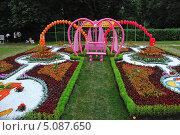 Купить «Ландшафтный дизайн в парке Кузьминки, Москва», эксклюзивное фото № 5087650, снято 4 июля 2009 г. (c) lana1501 / Фотобанк Лори