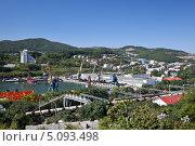 Купить «Город Находка, панорама», фото № 5093498, снято 15 сентября 2013 г. (c) Наталья Волкова / Фотобанк Лори