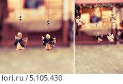 Сувениры - ангелы с крыльями. Стоковое фото, фотограф Светлана Мамонтова / Фотобанк Лори