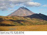Вилючинский вулкан. Стоковое фото, фотограф Надежда Х. / Фотобанк Лори