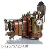 Купить «Ретро-футуристическая модель фотоаппарата», фото № 5123430, снято 5 октября 2013 г. (c) Валерий Александрович / Фотобанк Лори
