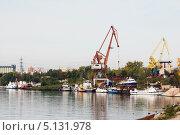 Судоремзавод город Тольятти (2012 год). Редакционное фото, фотограф Сергей Хрушков / Фотобанк Лори