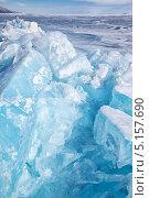 Байкал зимой / Winter lake Baikal. Стоковое фото, фотограф Serg Zastavkin / Фотобанк Лори