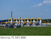 Газовые трубы. Стоковое фото, фотограф алексей малов / Фотобанк Лори