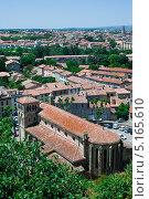 Франция - черепичные крыши. Стоковое фото, фотограф Мария Тильда / Фотобанк Лори