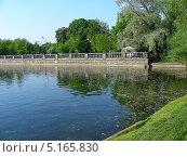 Купить «Голицынские пруды в парке Горького, Москва», эксклюзивное фото № 5165830, снято 23 мая 2011 г. (c) lana1501 / Фотобанк Лори