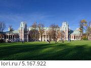 Царицыно дворец (2013 год). Редакционное фото, фотограф Дмитрий Востриков / Фотобанк Лори
