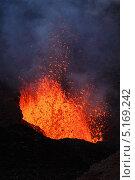 Купить «Камчатка. Извержение вулкана», фото № 5169242, снято 27 июля 2013 г. (c) А. А. Пирагис / Фотобанк Лори