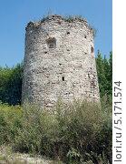 Башня в Сатанове (Хмельницкая обл., Украина) (2013 год). Стоковое фото, фотограф Инесса Скрипкина / Фотобанк Лори
