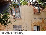 Купить «Ветхое жильё», фото № 5180690, снято 10 июля 2013 г. (c) Константин Кург / Фотобанк Лори