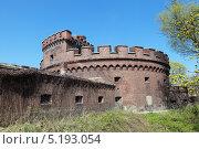 Купить «Башня Врангеля (Der Wrangel) на верхнем пруду, город Калининград», фото № 5193054, снято 4 мая 2013 г. (c) Игорь Долгов / Фотобанк Лори