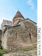 Купить «Церковь Успения на территории крепости Ананури. Грузия», фото № 5197962, снято 2 июля 2013 г. (c) Евгений Ткачёв / Фотобанк Лори