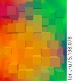 Абстрактный кубический фон. Стоковая иллюстрация, иллюстратор daniel0 / Фотобанк Лори