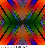 Геометричный цветной фон. Стоковая иллюстрация, иллюстратор daniel0 / Фотобанк Лори