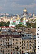 Вид из окна на Санкт-Петербург (2013 год). Редакционное фото, фотограф Наталья Есипова / Фотобанк Лори