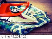 Старый утюг. Стоковое фото, фотограф Jaromir Urbanek / Фотобанк Лори