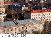 Купить «Москва. Хрущёвские пятиэтажки», фото № 5201326, снято 14 октября 2013 г. (c) Старостин Сергей / Фотобанк Лори