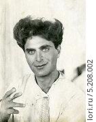 Купить «Мужской портрет (1927)», эксклюзивное фото № 5208002, снято 26 февраля 2020 г. (c) Михаил Ворожцов / Фотобанк Лори
