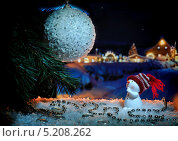 Снеговик. Стоковое фото, фотограф Тимур Уразов / Фотобанк Лори