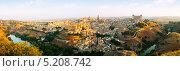 Купить «Панорама города Толедо солнечным утром, Испания», фото № 5208742, снято 20 марта 2019 г. (c) Яков Филимонов / Фотобанк Лори