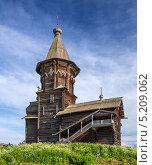 Купить «Церковь Успения Богородицы в Кондопоге», фото № 5209062, снято 10 июня 2013 г. (c) Дмитрий Волков / Фотобанк Лори