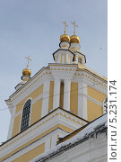 Купол Преображенского собора в Новокузнецке (2013 год). Стоковое фото, фотограф Константин Челомбитко / Фотобанк Лори