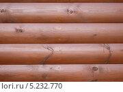 Текстура дерева блокхаус. Стоковое фото, фотограф Isay777 / Фотобанк Лори