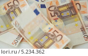 Купить «Падающие банкноты номиналом в 50 евро», видеоролик № 5234362, снято 6 апреля 2013 г. (c) Syda Productions / Фотобанк Лори