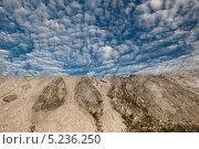 Гора с облаками. Окрестности города Воскресенск. Стоковое фото, фотограф Ермихина Оксана / Фотобанк Лори