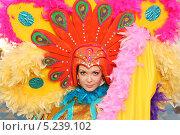 Купить «Актриса в роли Жар-Птицы», фото № 5239102, снято 15 ноября 2010 г. (c) lanych / Фотобанк Лори