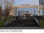 Купить «Дворец молодежи в Перми», фото № 5255270, снято 8 ноября 2013 г. (c) Денис Нечаев / Фотобанк Лори
