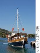 Купить «Хорватия. Морской прогулочный корабль», эксклюзивное фото № 5274086, снято 16 сентября 2012 г. (c) Svet / Фотобанк Лори