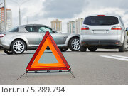 Купить «ДТП на дороге», фото № 5289794, снято 22 сентября 2013 г. (c) Дмитрий Калиновский / Фотобанк Лори
