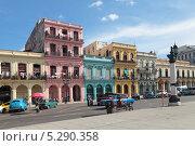 Купить «Куба, Гавана, городской пейзаж», фото № 5290358, снято 19 октября 2018 г. (c) Игорь Долгов / Фотобанк Лори
