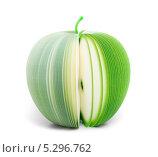 Купить «Бумажное яблоко», фото № 5296762, снято 17 ноября 2013 г. (c) Максим Пименов / Фотобанк Лори