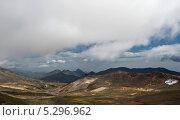 Вид со склона Мутновского вулкана (Камчатка) Стоковое фото, фотограф Борис Иванов / Фотобанк Лори