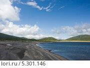 Берег озера Толмачёво (Камчатка) Стоковое фото, фотограф Борис Иванов / Фотобанк Лори