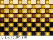 Бесшовный фон с текстурными квадратиками. Стоковая иллюстрация, иллюстратор Ислам Ижаев / Фотобанк Лори