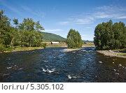 Река Быстрая (Камчатка) Стоковое фото, фотограф Борис Иванов / Фотобанк Лори