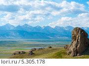 Вид на баргузинскую долину. Стоковое фото, фотограф Александр Подшивалов / Фотобанк Лори