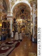 Купить «Никольский Морской собор в Санкт-петербурге», фото № 5309570, снято 24 ноября 2013 г. (c) Александр Секретарев / Фотобанк Лори