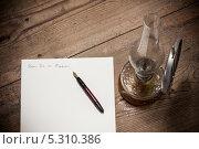 Купить «Старомодное письмо и керосиновая лампа», фото № 5310386, снято 15 октября 2013 г. (c) Jaromir Urbanek / Фотобанк Лори