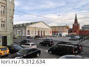 Купить «Моховая улица, Манеж, Кремль, Москва», эксклюзивное фото № 5312634, снято 19 ноября 2013 г. (c) lana1501 / Фотобанк Лори