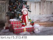 Новогодние подарки. Стоковое фото, фотограф Артём Ласьков / Фотобанк Лори